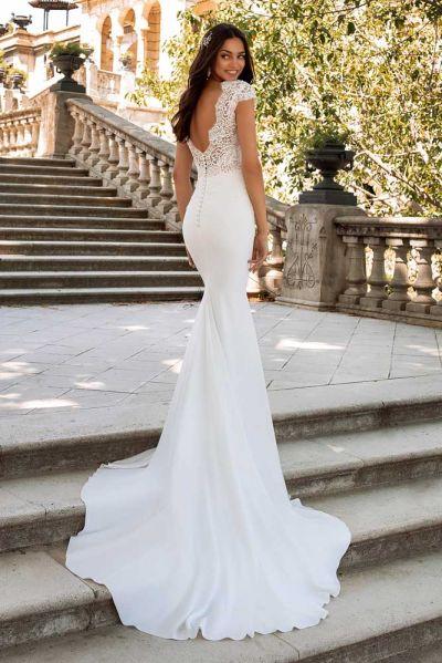 Hääpuku Pronovias  Milady White Dress