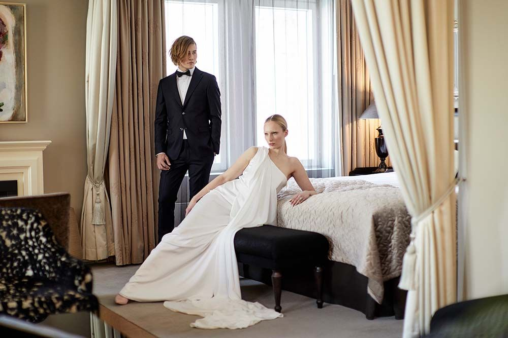 Hotel Haven Helsinki morsiussviitti