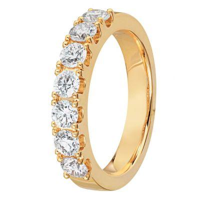 timanttisormus keltakulta 40849 Story Of Love Kultajousi
