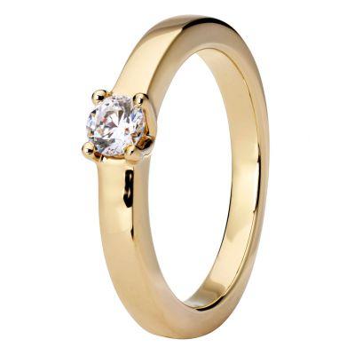 timanttisormus keltakulta 42378 Story Of Love Kultajousi
