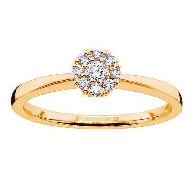 timanttisormus halosormus keltakulta 20105691 princess kultajousi
