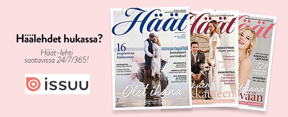 suomalainen Häät-lehti Issuussa
