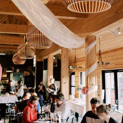 Krapin lämminhenkinen juhlapaikka Ravintola Mankeli Tuusulassa pääkaupunkiseudulla