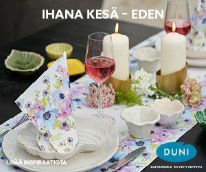 Hääkattaus ihanaan kesään Eden by Duni