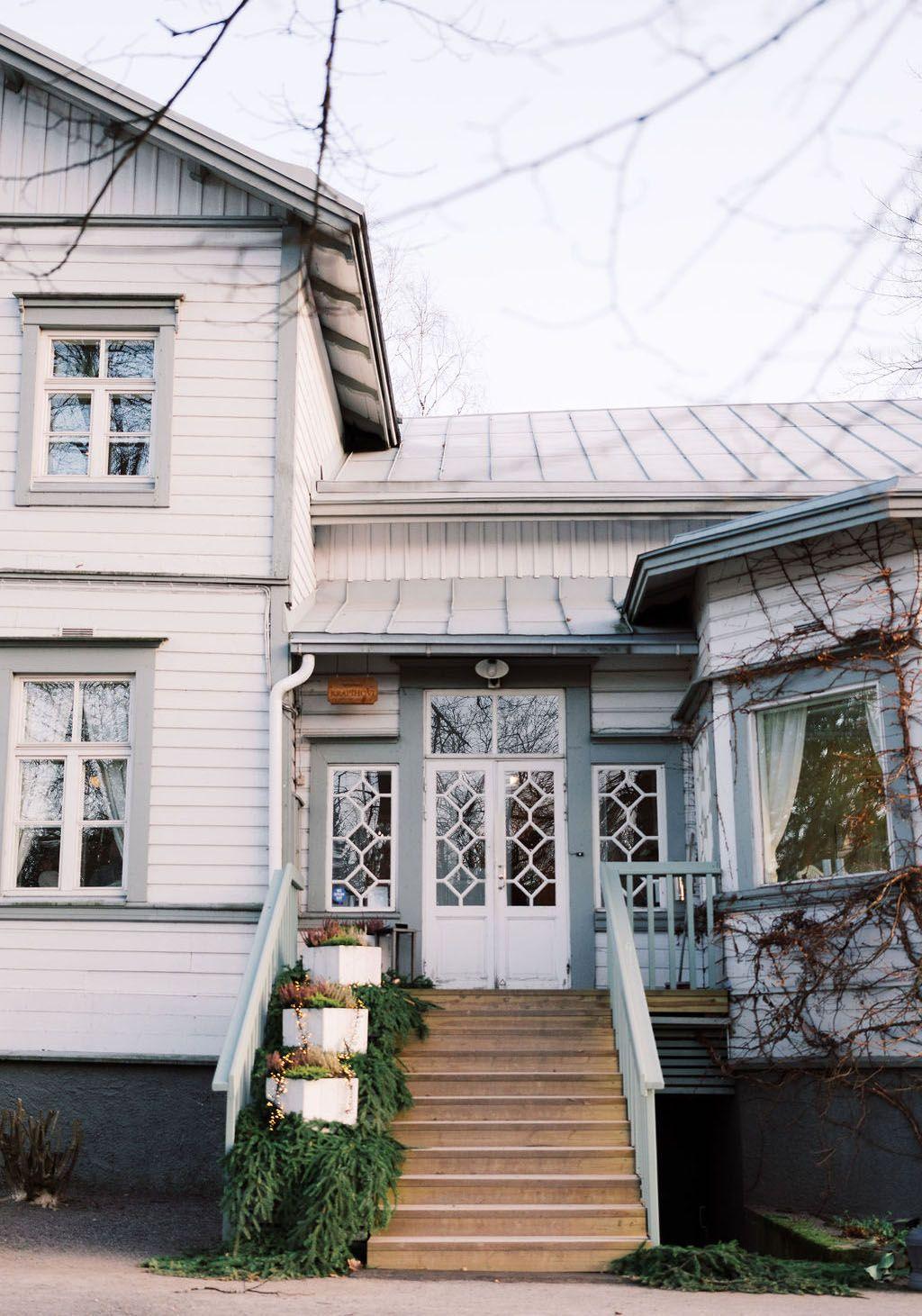 Puuhuvila Krapihovi on oiva hää- ja juhlapaikka Tuusulassa pääkaupunkiseudulla