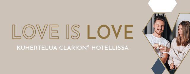 Kuhertelua Clarion Hotel Helsinki