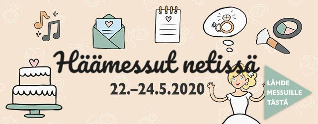 Häämessut netissä 22.-24.5.2020 sisältöbanner