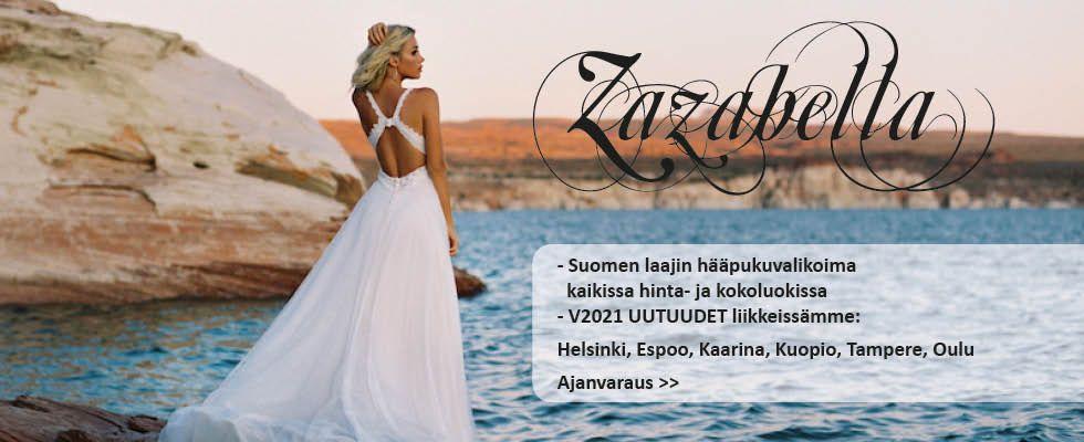 Zazabellassa Suomen laajin hääpukuvalikoima