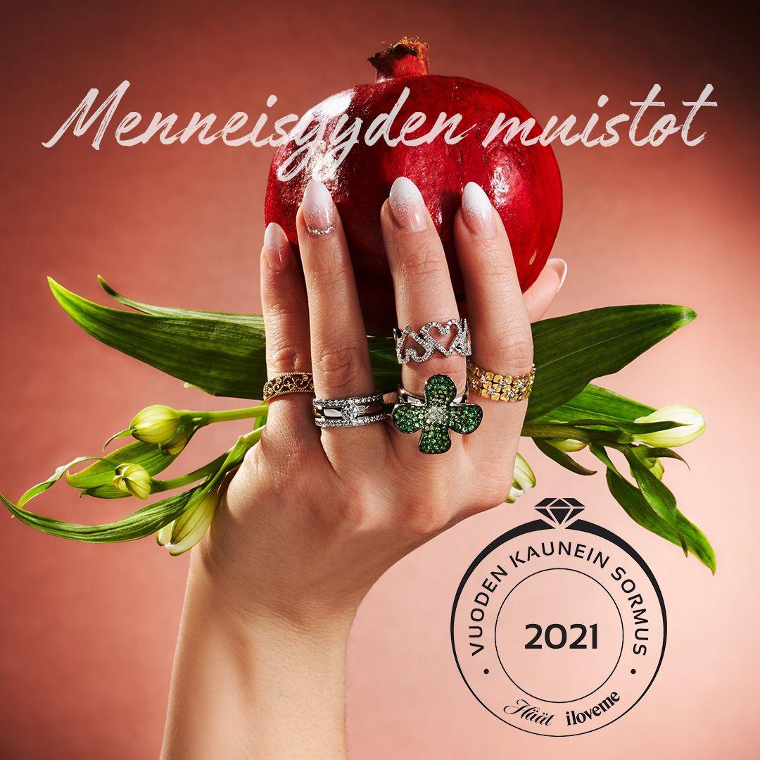 Vuoden Kaunein Sormus 2021 teema Menneisyyden muistot
