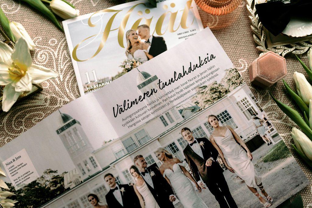 Häät-lehti 1/2021 luksushäät Hangossa