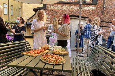 Hääpukuliike Wedding Garage Helsinki – avajaiset
