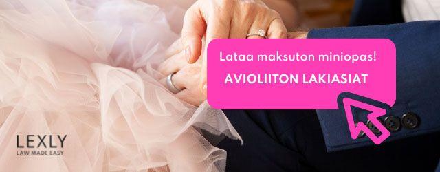 Lataa maksuton miniopas avioliiton lakiasiat Lexly