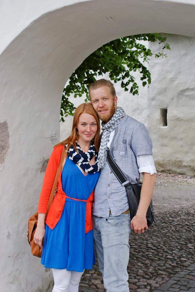 Raine Heiskanen ja Sanna Parviainen kosinta