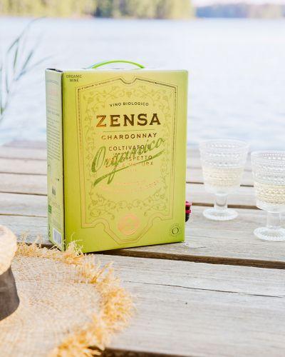 Viinilinna valkoviini Zenza chardonnay