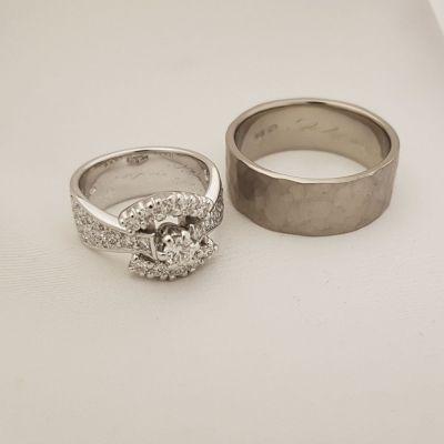 timanttisormus vihkisormus Suvies Fine Jewellery