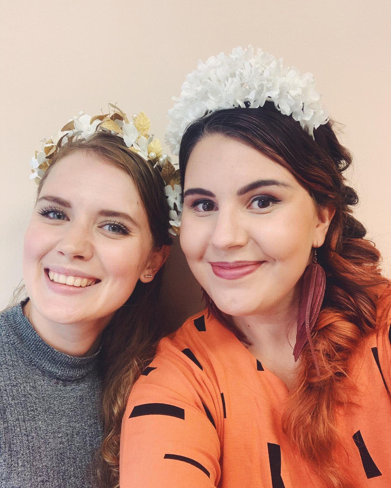 Sonja ja Hanna Häät-blogiyhteisössä