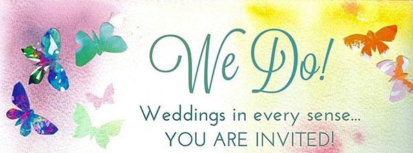 10 hyvää syytä tulla We Do! Wedding Fair -messuille