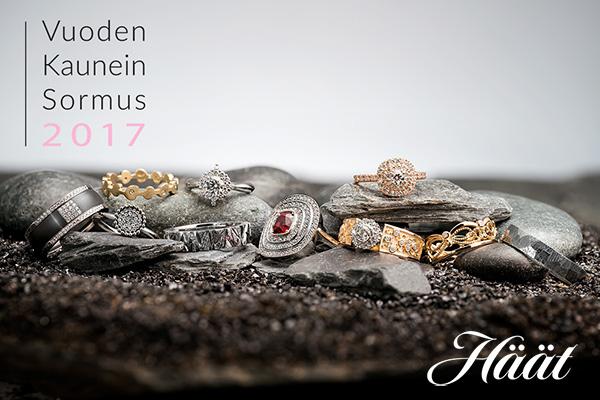 Korumuotoilija - Onko sinun luomuksesi Vuoden Kaunein Sormus 2017?